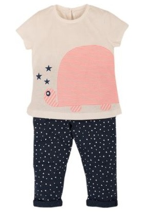 İdil Baby 8516 Kız Pijama Takımı