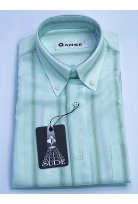 Anse Erkek Gömlek Kısa Kollu Cepli 1