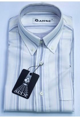 Anse Erkek Gömlek Kısa Kollu Cepli 4