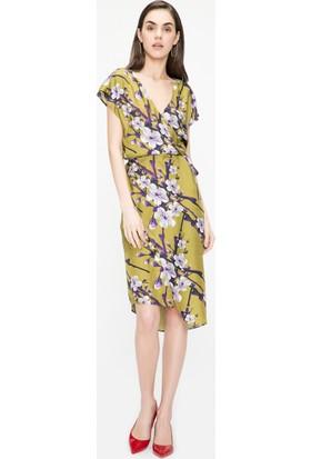 Just Like You 001 Çiçek Desen Elbise