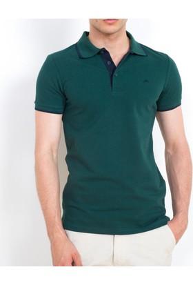 Cazador Erkek Polo Yaka T-Shirt Yeşil 4614