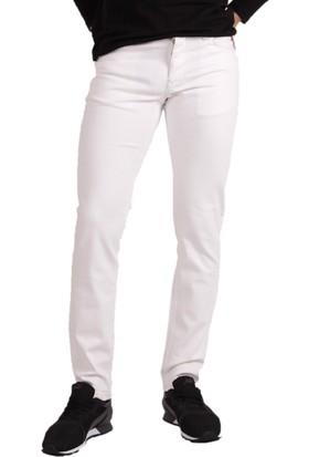 Loft Ricardo Gibson Erkek Kot Pantolon Beyaz 2008527