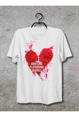 Vestimen Gruesome Playground Injuries Tshirt Tshirt No01 Beyaz Xlarge