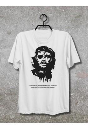 Vestimen Che Guevera Tshirt Tshirt No07 Beyaz Xlarge
