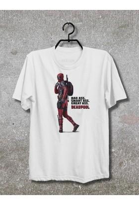 Vestimen Deadpool Tshirt Tshirt No02 Beyaz Xlarge
