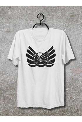 Vestimen Dragon Tshirt Tshirt No10 Beyaz Xlarge