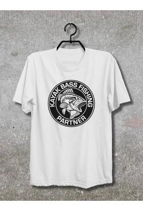 Vestimen Fishing Tshirt Tshirt No03 Beyaz Xlarge