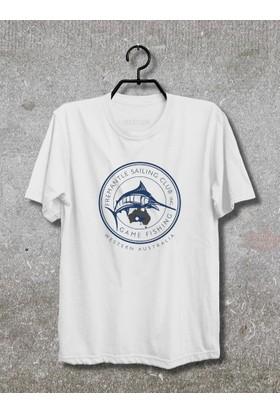 Vestimen Fishing Tshirt Tshirt No01 Beyaz Xlarge