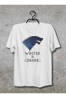 Vestimen Game Of Thrones Tshirt Tshirt No06 Beyaz Xlarge