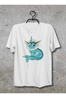 Vestimen Pokemon Aquana Tshirt Tshirt No03 Beyaz Xlarge