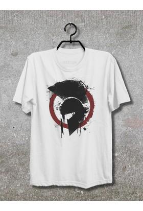 Vestimen Spartan Tshirt Tshirt No01 Beyaz Xlarge