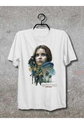 Vestimen Star Wars Rogue One Tshirt Tshirt No22 Beyaz Xlarge