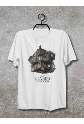 Vestimen Cabin Woods Tshirt Tshirt No01 Beyaz Xlarge