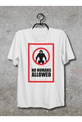 Vestimen District 9 No Humans Allowed Tshirt Tshirt No01 Beyaz Xlarge