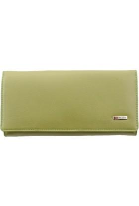 Derkon Style 008 Kadın Deri Cüzdan Yeşil
