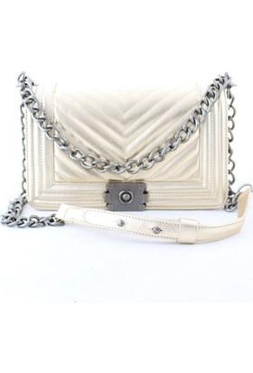 Biggi 3031 Kadın Postacı Çanta Altın