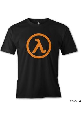 Lord T-shirt Half Life Logo Siyah Erkek T-Shirt