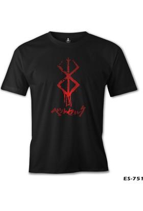 Lord T-shirt Berserk Mark Siyah Erkek T-Shirt