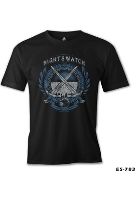 Lord T-shirt Game Of Thrones Nights Watch Siyah Erkek T-Shirt