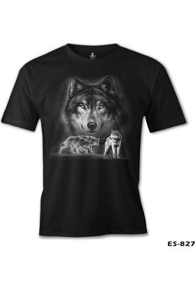 Lord T-shirt Kurt Siyah Erkek T-Shirt