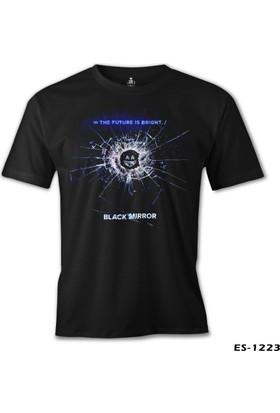 Lord T-shirt Black Mirror Siyah Erkek T-Shirt