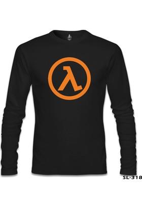 Lord T-shirt Half Life Logo Siyah Erkek Sweatshirt