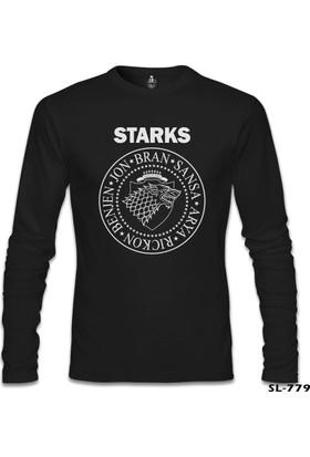 Lord T-shirt Game Of Thrones Stark Children Siyah Erkek Sweatshirt