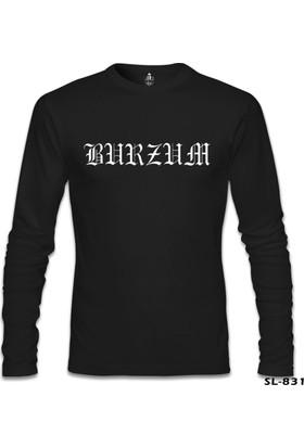 Lord T-shirt Burzum Logo Siyah Erkek Sweatshirt