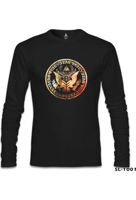 Lord T-shirt Eye Empire Siyah Erkek Sweatshirt