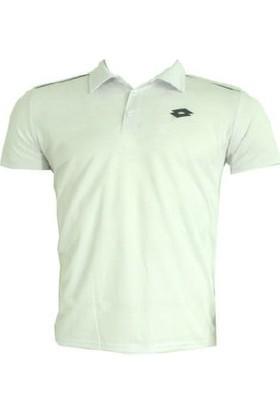 Lotto Enzo Polo Yaka T-Shirt 7211 Beyaz Erkek