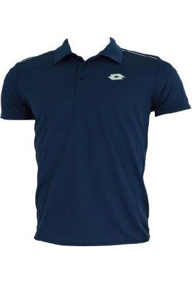 Lotto Enzo Polo Yaka T-Shirt 7211 Lacivert Erkek