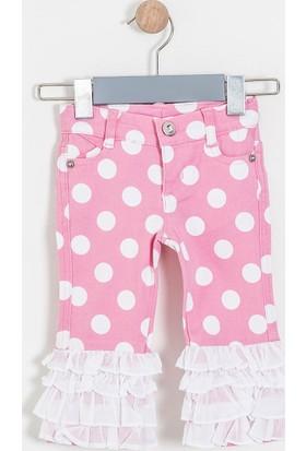Soobe Kız Çocuk Pantolon Pembe