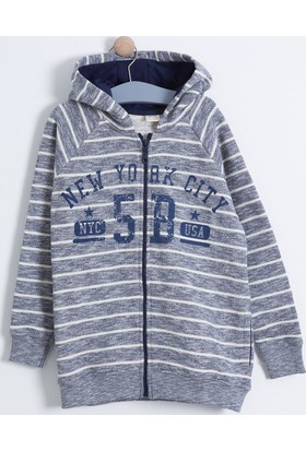 Soobe Pop Boys Fermuarlı Kapüşonlu Sweatshirt 16KEGSSRT364_00-0120