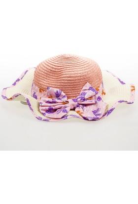 Soobe Kız Çocuk Hasır Şapka SBAKCSPK1196_00-0050