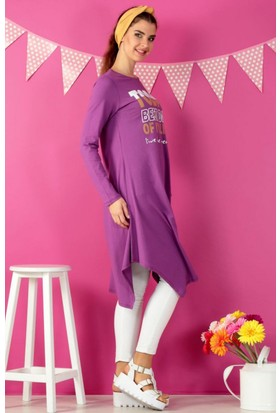 Dide Best Day Of Tunik D021660 Mor