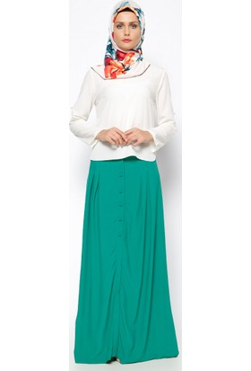 Kloş Etek - Yeşil - Missmira
