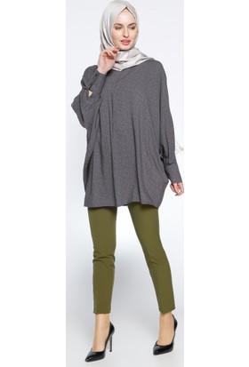 Klasik Dar Paça Pantolon - Yeşil - BÜRÜN