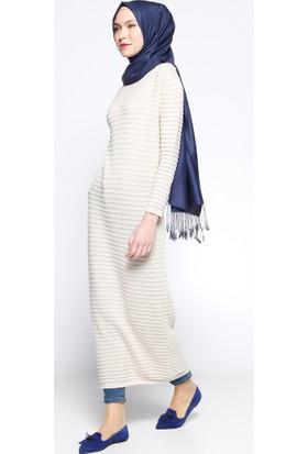 Mevsimlik Elbise - Taş - Zentoni