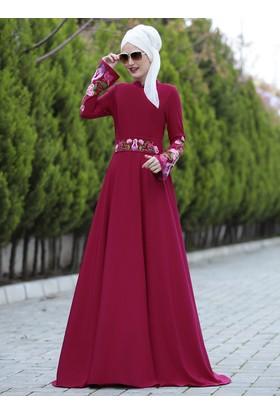 Lale Elbise - Fuşya - Selma Sarı Design