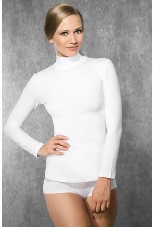 Doreanse Kadın Boğazlı Yaka Sweat Shirt 8510