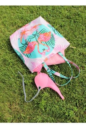 Modafabrik Flamingo Fashion Bag