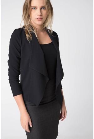 DeFacto Kadın Trend Ceket Siyah