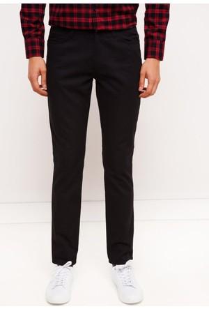 DeFacto Erkek Gabardin 5 Cep Pantolon Siyah