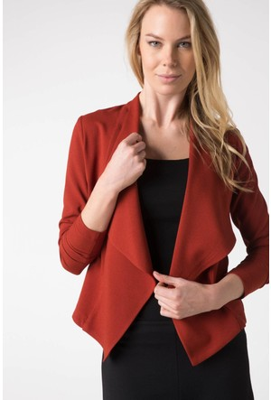 DeFacto Kadın Trend Ceket Turuncu