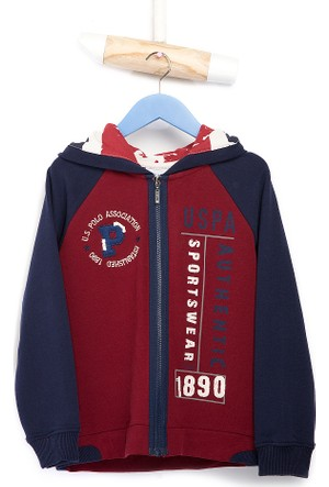 U.S. Polo Assn. Erkek Çocuk Thomas Sweatshirt Kırmızı