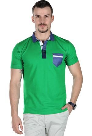 Brango 12466 Polo Yaka Tek Cep 09 T-Shirt