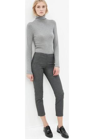 Koton Kadın Slim Fit Pantolon Antrasit