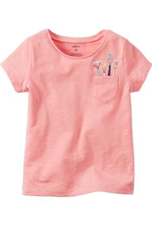 Carter's Küçük Kız Çocuk Tshirt 253G925