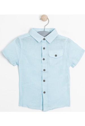 Soobe Erkek Çocuk Gömlek Petit Blue