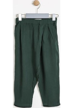 Soobe Kız Çocuk Harem Pantolon Yeşil